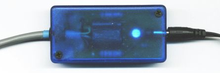 Clear Blue Power Supply Module Top ( click to enlarge )